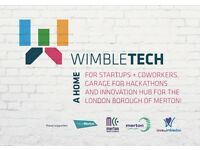 Best Coworking Hub **Wimbletech** hot desks, fixed desks, meeting rooms and more from £75pm