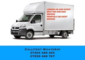 MAN AND LUTON VAN REMOVALS SAME DAY COURIER DELIVERY SERVICE PALLET LIFTER PUMP TRUCK MOVING MOVER