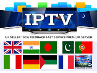 1 Month IPTV Subscription (Smart TV, Kodi, MAG, iOS, Android) New Package Server