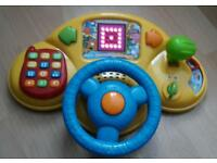 Musical toy for a child development