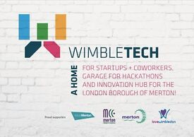 Wimbledon's best community coworking hub! Affordable rates, and an amazing support network!