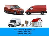 Removals Man Luton van hire Courier service House Office mover Storage Same day IKEA Delivery Piano