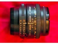 Nikon 50mm F1.8 D lens for sale