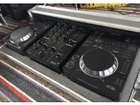 Pioneer cdj350 x2..Pioneer Djm350 mixer..Pioneer all in one flightcase.