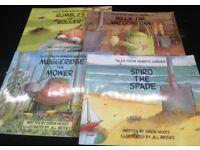 Tales from Henrys Garden childrens book set