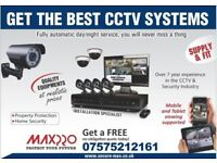 4 x Full HD cameras Professional CCTV System - Night Vision - Mobile viewing