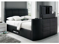 TV BED BRAND NEW TV BED WITH GAS LIFT STORAGE Fast DELIVERY 44EAAEB