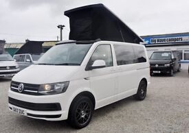2017 Volkswagen VW Transporter 102 ps Trendline Pop top Conversion Camper Campervan