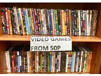 DVD's & video games