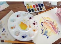 Watercolour Classes in Mousehole suitable for beginners, August