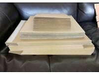 Vinyl cardboard packaging