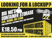 SELF STORAGE LEEDS, SAFE, SECURE AND CHEAP RATES! 10 AND 20FT AVAILABLE