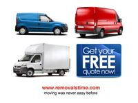 NATIONWIDE VAN & MAN HOUSE MOVER OFFICE REMOVAL LUTON TRUCK HIRE WITH 2/3 MEN PIANO SHIFTING MOVING