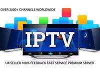 Reseller Panel IPTV Subscription (Smart TV, Kodi, MAG, iOS, Android) Make Money!!