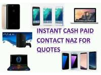CASH FOR: IPHONE 8 / PLUS IPHONE 7 SAMSUNG GALAXY NOTE 8 64GB 128GB 256GB 32GB S8 S8 PLUS
