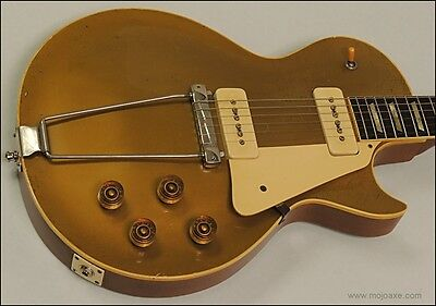 1952 Gibson Les Paul (Compensated Trapeze Tailpiece for 1952 1953 Gibson Les Paul Goldtop - MojoAxe  )