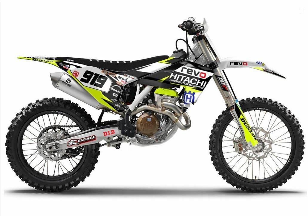 Team Revo Husqvarna Fc 450 14 15 Mxgp Graphics Kit