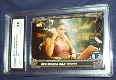2013 Transformers Distance Relationship Graded 10 Card