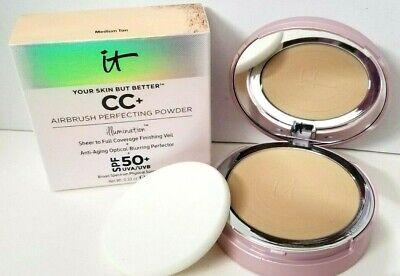 it Cosmetics YOUR SKIN BUT BETTER AIRBRUSH PERFECTING POWDER 0.33OZ MEDIUM