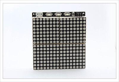 DIY electronic Kit -  Juno Matrix Pro 2 Atmega128 16x16 DS1302 SMD Arduino led