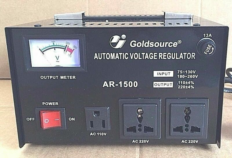 VOLTAGE TRANSFORMER FROM 220 TO 110V 110 TO 220V 1500W CURRENT STABILIZER