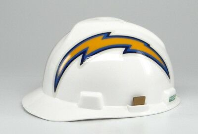 Nfl Hard Hat San Diego   Los Angeles  La  Chargers Medium Msa Safety Works New