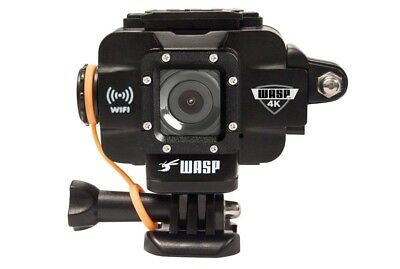 WASPCam Action-Sport Video Camera by Cobra 4K WiFi Waterproof BLK - 9907