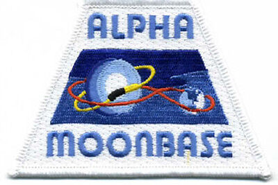 Space 1999 Alpha Moonbase Logo - Uniform Patch - Kostüm Aufnäher  - neu