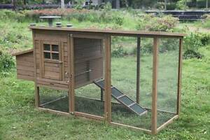 New Rabbit Chicken Guinea Pig Ferret Hutch House Coop Cage ED011 Thomastown Whittlesea Area Preview
