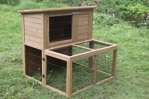 New Rabbit Chicken Guinea Pig Ferret Hutch House Coop Cage ED22 Thomastown Whittlesea Area Preview