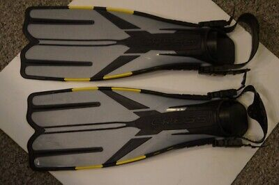 CRESSI-SUB RONNIE PROFESSIONAL DIVING FINS, MADE IN ITALY SIZE XS ()