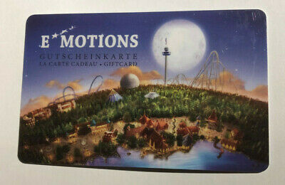 Europa-Park Rust EMOTIONS Gutscheinkarte GIFTCARD Geldkarte