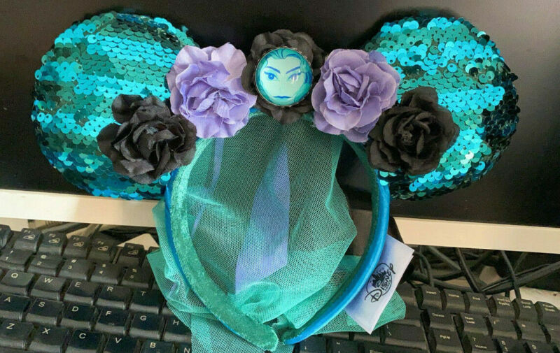 Disney Minnie Mouse: The Main Attraction Ear Headband - The Haunted Mansion