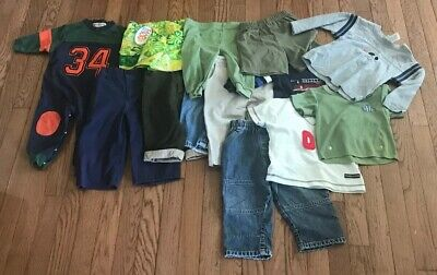 12pc Boys 12-18 Month Clothing Lot, FREE SHIPPING, All Brands Are Pictured