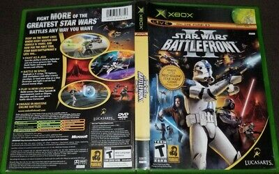 Star Wars: Battlefront II 2 (Microsoft Xbox 2005) COMPLETE & TESTED
