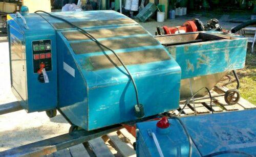 7.5 Hp Polymer Systems Auger Fed/Granulator Machine #1010 WA, 575V, 3 ph