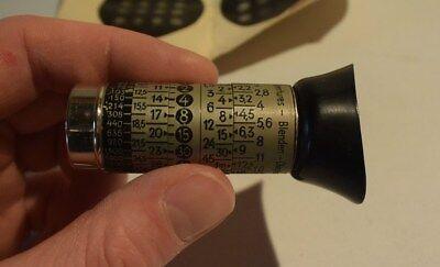C56 Ancien appareil LIOS SCOP photomètre made in germany