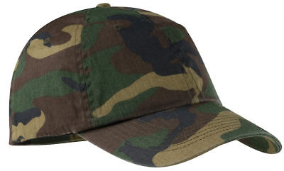 Port Authority Casual Unstructured Hat Cotton Twill Low Profile Cap. C851