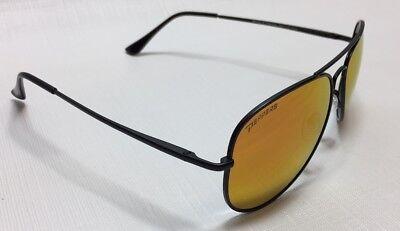 NEW Peppers Eyewear Freeway Black Red Mirror Aviator Polarized Sunglasses (Freeway Eyewear)
