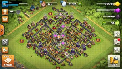 Clash of clans TH11 nearly max