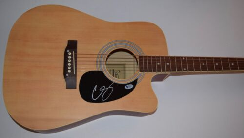 Chris Stapleton Signed Autographed Full Size Acoustic Guitar Beckett BAS COA