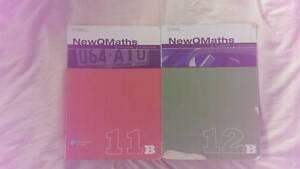 NewQMaths 11B and 12B Textbooks Shailer Park Logan Area Preview