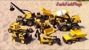 I'm looking for metal Tonka trucks