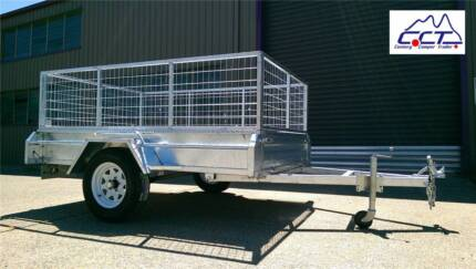 CLEARANCE!!7 Left! Old Model 8×5 Full Welded Galvanized Trailer Salisbury Brisbane South West Preview
