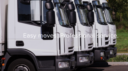 Professional furniture removals from $80 per hour
