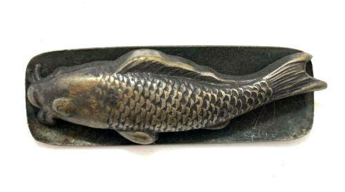 Antique Japanese Markanaga Clasp: Fish (V34)