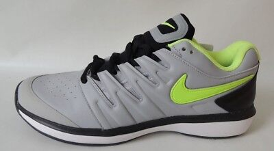 NEU Nike Air Zoom Prestige HC Leather 44 Tennisschuhe Tennis Schuhe AJ4657-001
