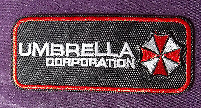UMBRELLA CORPORATION RESIDENT EVIL LOGO EMBROIDERED PATCH SCI-FI HORROR DIY