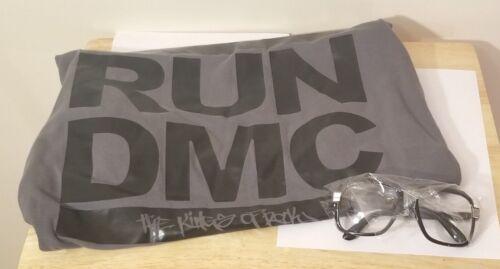 RUN-DMC Classic Gray RUN-DMC The Kings of Rock XL T-Shirt