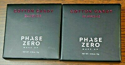 2X Phase Zero Make Up Blusher in Cotton Candy lot of 2